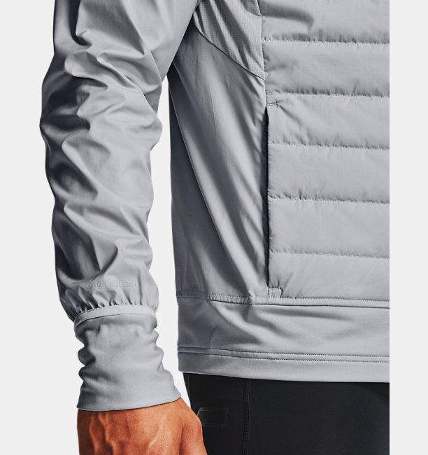 남성 UA 런 인슐레이트 하이브리드 재킷