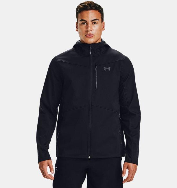 Herren ColdGear® Infrared Shield Jacke mit Kapuze