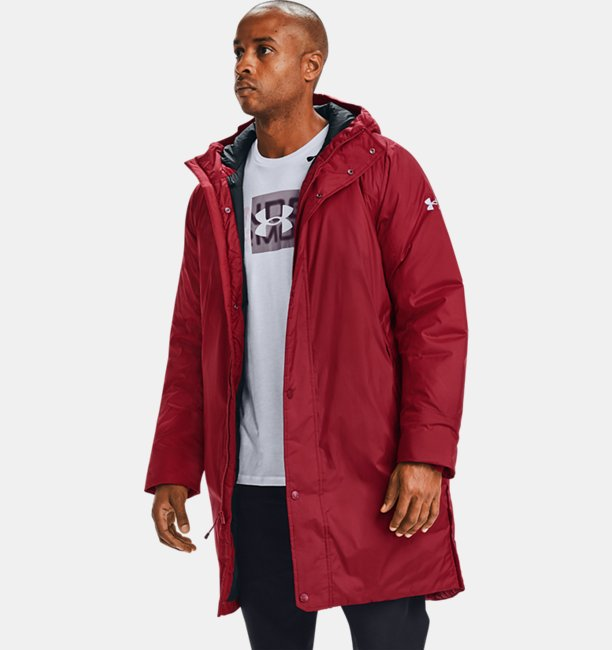 Mens UA Armour Insulated Bench Coat