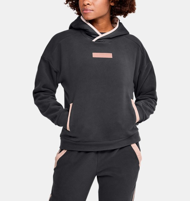 Womens UA Street To Summit Polar Fleece Hoodie