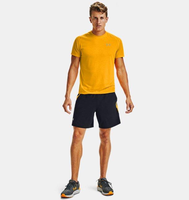 Mens UA Launch SW 18 cm Branded Shorts