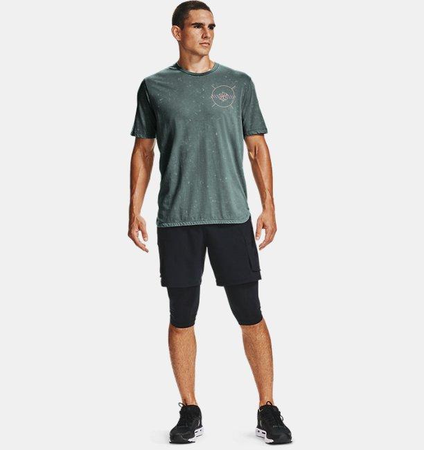 Camiseta de manga corta UA Run Anywhere para hombre