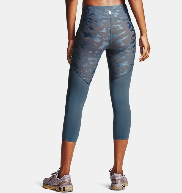 Womens UA Fly Fast 2.0 Sizzle Crop