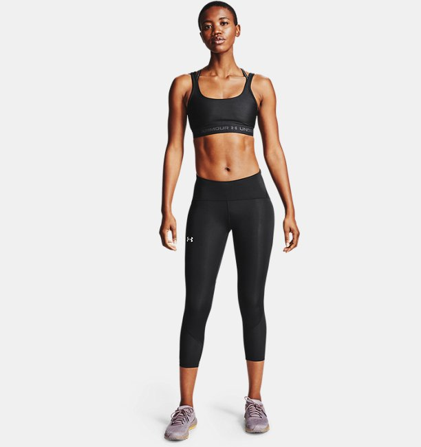 Womens UA Fly Fast 2.0 HeatGear® Crop