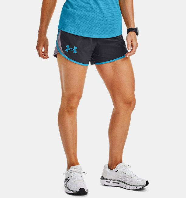 Womens UA Fly By 2.0 Stunner Shorts