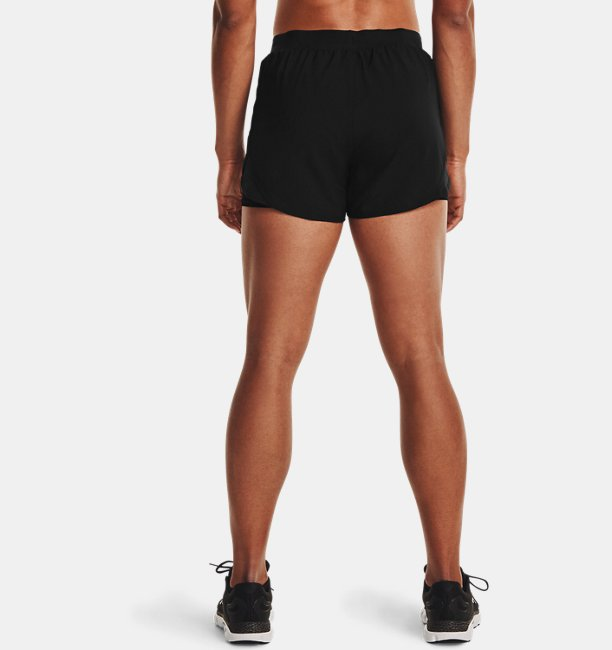 Damen UA Fly By 2.0 2-in-1-Shorts