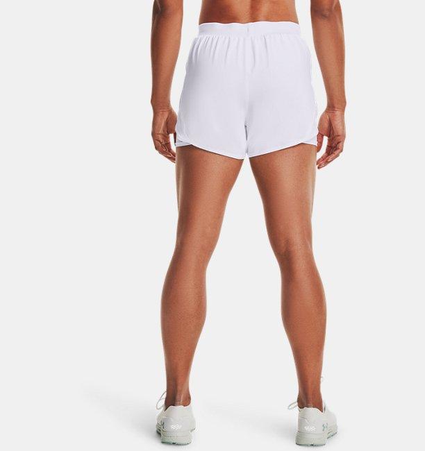Damen UA Fly By 2.0 2-in-1-Shorts