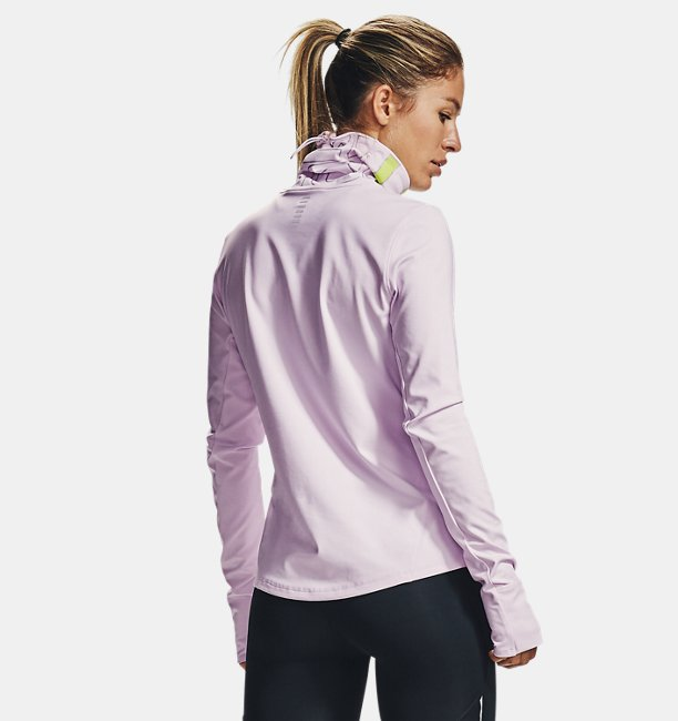 Womens UA Qualifier Ignight ColdGear® Funnel Neck