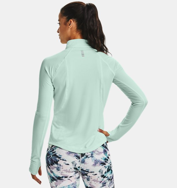 Damen UA Speed Stride Attitude Oberteil mit ½ Zip