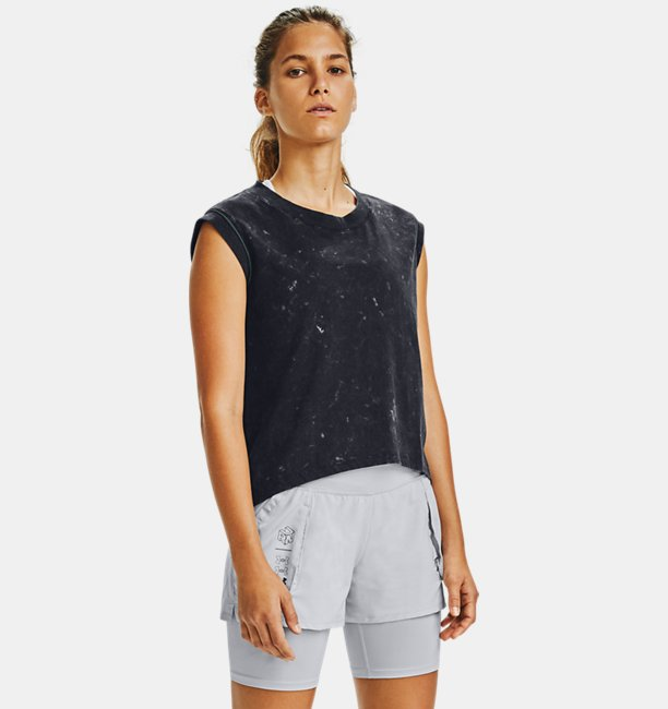 Womens UA Run Anywhere Short Sleeve