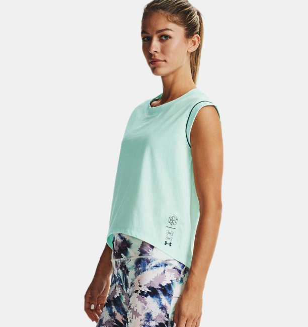 Playera Manga Corta UA Run Anywhere para Mujer