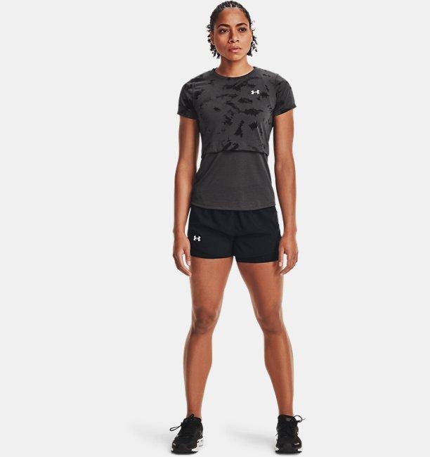 Womens UA Streaker 2.0 Inverse Short Sleeve