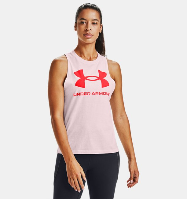 Womens UA Sportstyle Graphic Tank