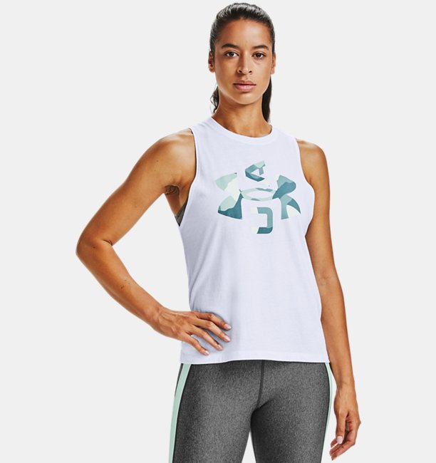 Womens UA Logo Graphic Muscle Tank