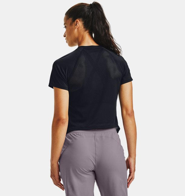 Womens UA Armour Sport Hi-Lo Short Sleeve
