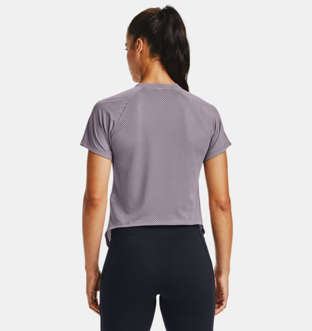 Womens UA Armour Sport Hi-Lo Short Sleeve