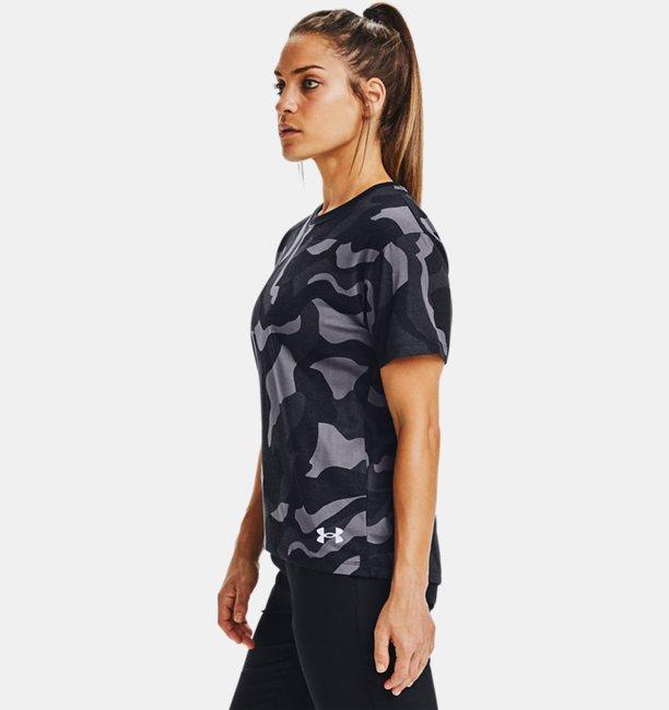 Womens UA Denali Print Short Sleeve