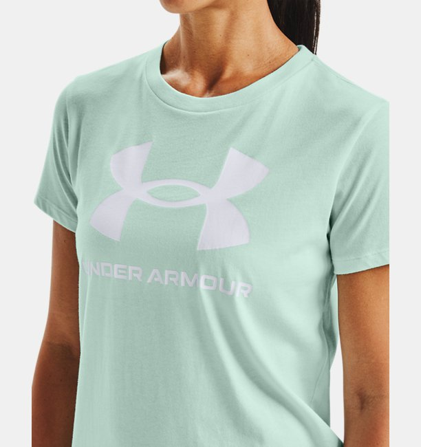 Womens UA Sportstyle Graphic Short Sleeve