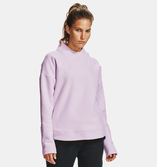 Damen UA RECOVER™ Fleece Wrap Neck