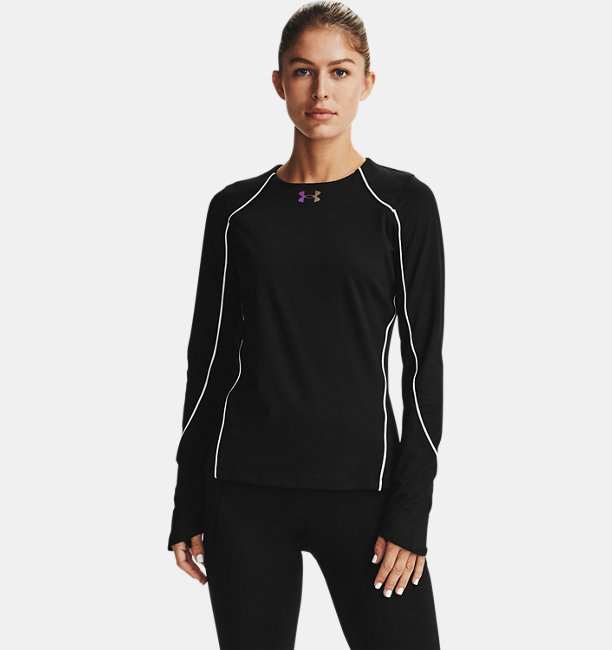 Womens UA RUSH™ ColdGear® Crew