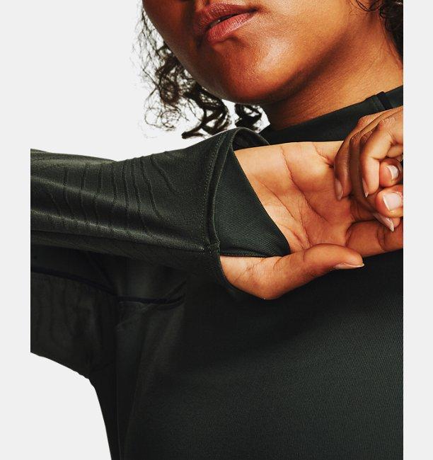 Womens UA RUSH™ ColdGear® Jacquard Mock