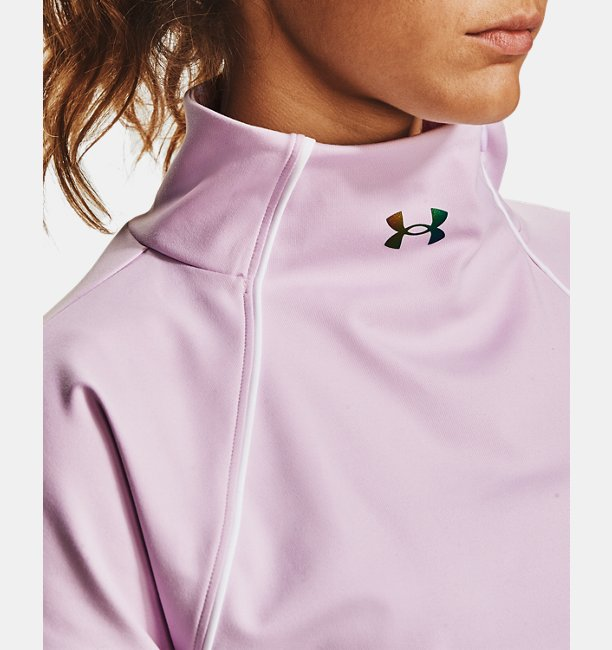 Womens UA RUSH™ ColdGear® ½ Zip