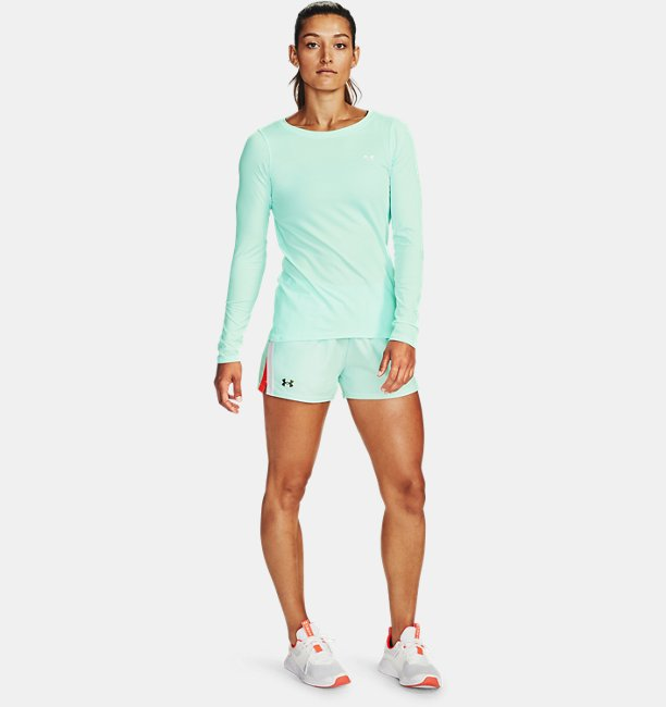 Women's UA Play Up Slit CB Shorts