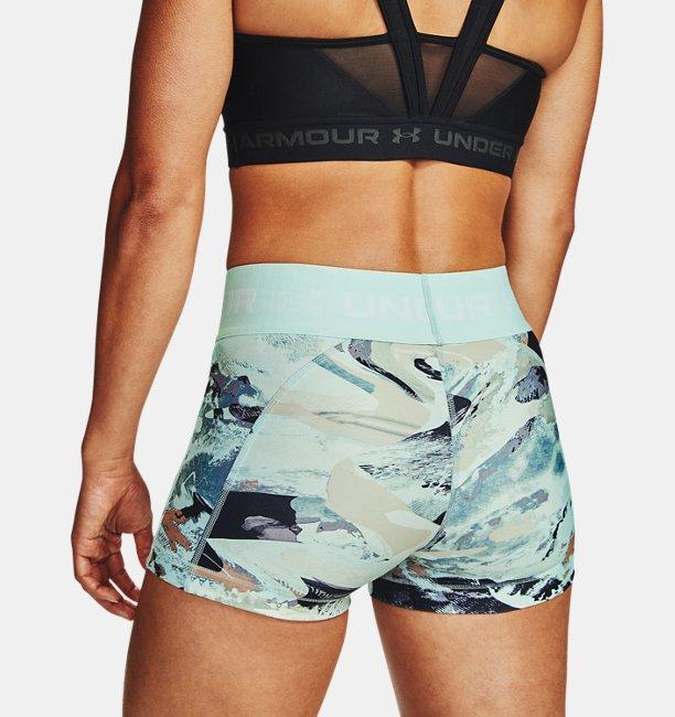 Shorty HeatGear® Armour Printed para Mujer