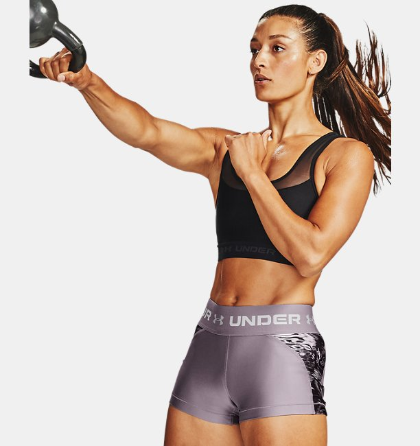 Womens HeatGear® Armour Printed Shorty