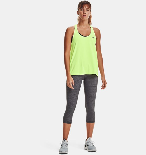 Womens UA Meridian Heather Crop