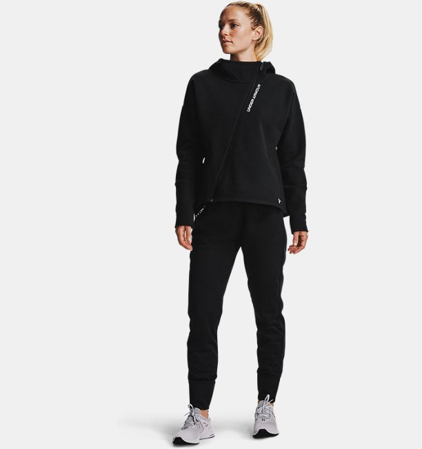 Womens UA RECOVER™ Fleece Full Zip Hoodie