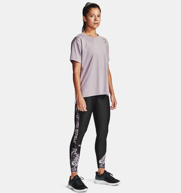 Womens HeatGear® Armour Printed 7/8 Leggings
