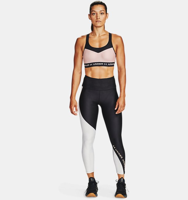 Womens HeatGear® Armour Wordmark 7/8 Leggings
