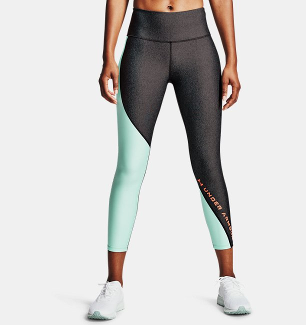 Mallas HeatGear® Armour Wordmark 7/8 para Mujer