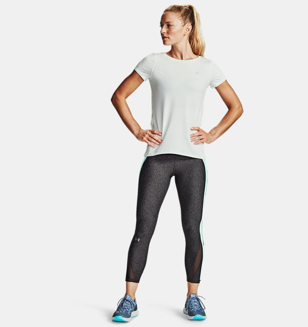Womens HeatGear® Armour Colour Block 7/8 Leggings