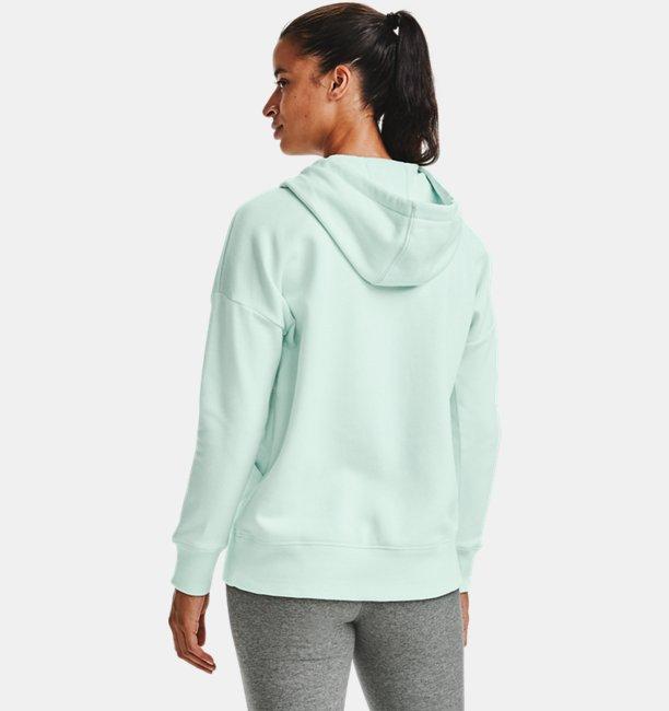 Womens UA Rival Fleece Full Zip Hoodie
