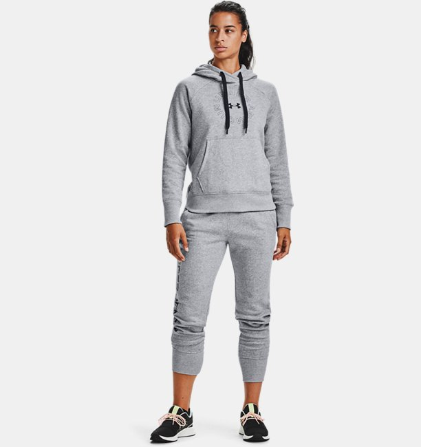 Womens UA Rival Fleece Shine Joggers
