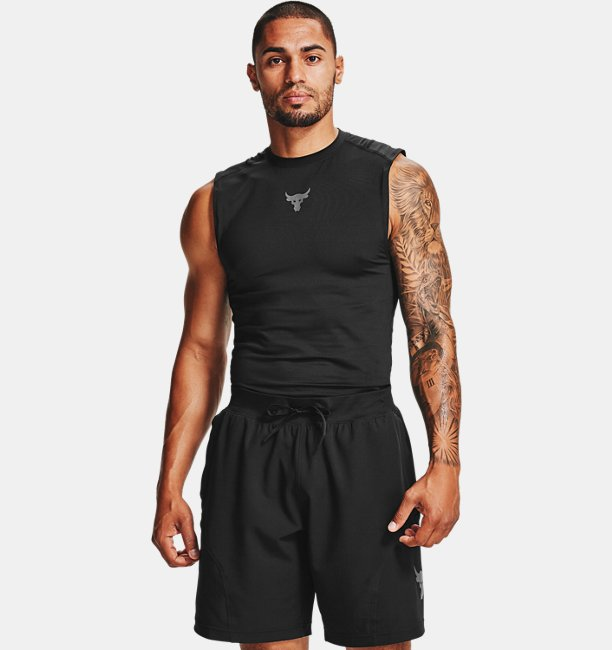Mens Project Rock HeatGear® Sleeveless