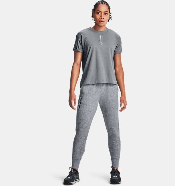 Women's UA Rival Fleece AMP Trousers