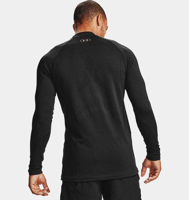 Mens UA RUSH™ ColdGear® Seamless Mock