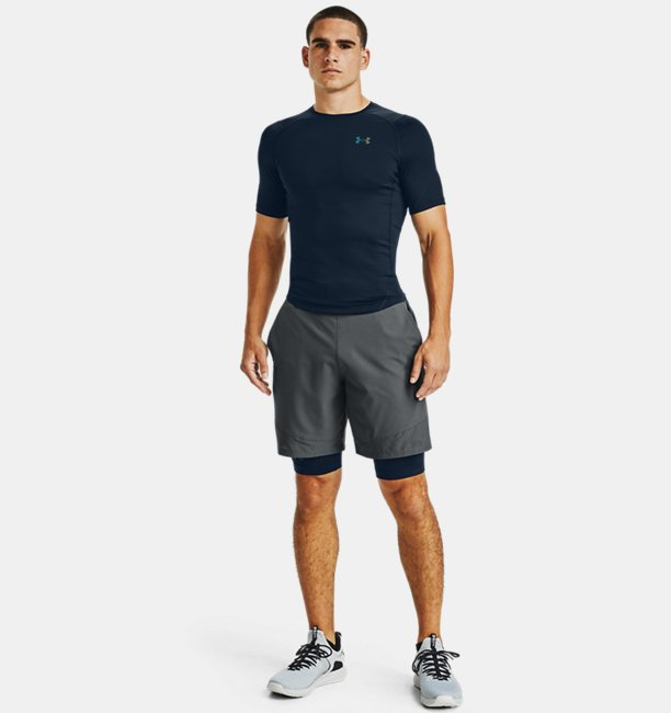 Mens UA RUSH™ HeatGear® 2.0 Compression Short Sleeve