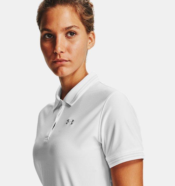 Polo UA Zinger Pique pour femme
