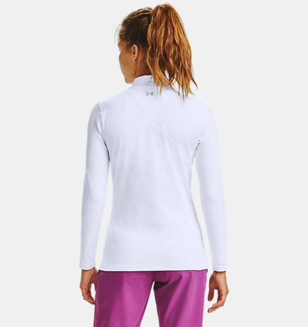 Womens ColdGear® Infrared Long Sleeve Golf Mock