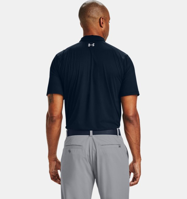 Mens UA Iso-Chill Chest Graphic Polo