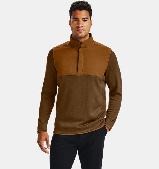 Erkek UA Storm SweaterFleece ½ Çıtçıtlı