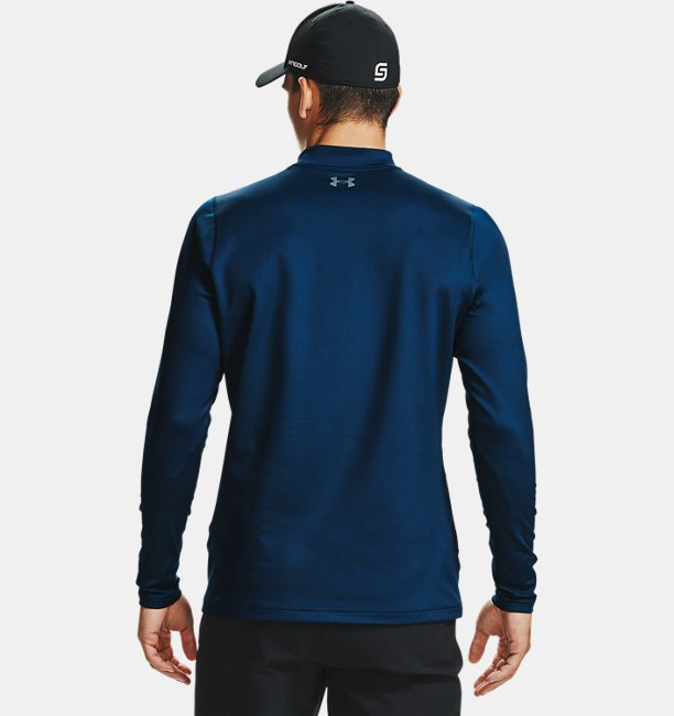 Mens ColdGear Infrared® Long Sleeve Golf Mock