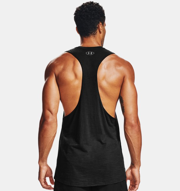 Mens Project Rock Charged Cotton® Tank