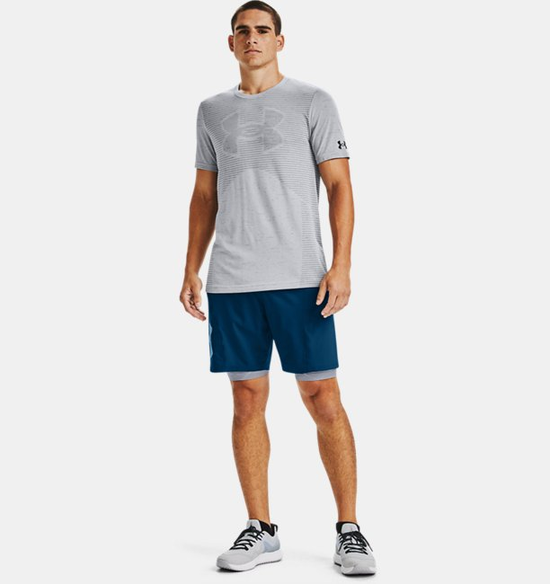 Mens UA Seamless Logo Short Sleeve