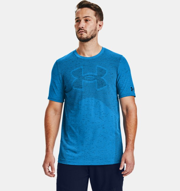 Men's UA Seamless Logo Short Sleeve
