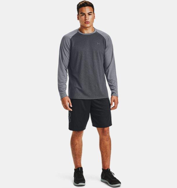 Mens UA Textured Long Sleeve
